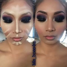 13 Contouring Before And Afters From Pinterest Tutorials