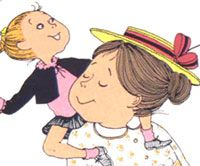 Mrs. Piggle Wiggle.  I wish she was a neighbor who could loan me tricks to use on my students!