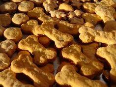 Lick The Bowl Good: Autumn's Birthday Cookies Bacon & Cheese Doggie Treats Puppy Treats, Diy Dog Treats, Homemade Dog Treats, Dog Treat Recipes, Dog Food Recipes, Yummy Recipes, Cheese Dog, Dog Cookies, Cheese Cookies