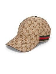 Gucci Classic Monogram Baseball Cap in Beige for Men (RED MULTI) Gucci  Monogram 6522c919514