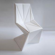 Vertex Chair With Cushion / designed by Karim Rashid