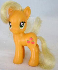2010 Hasbro G4 My Little Pony Applejack Friendship Is Magic Figure - 3 Inches #Hasbro