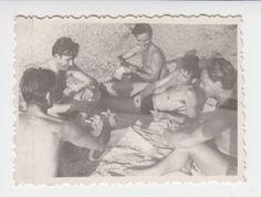 Swimmers MEN GAY INTEREST Vintage Real Photo #177 picclick.com