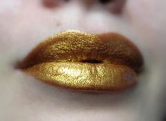 Golden Lipgloss  Cleopatra's Pride by FierceMagenta on Etsy, $9.69