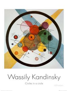Circle in a Circle Posters by Wassily Kandinsky at AllPosters.com