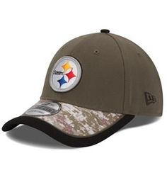 Pittsburgh  Steelers New Era 39THIRTY Salute to Service Hat. Click to  order! New 035d160af