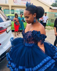 Ankara Gowns For Wedding, African Print Wedding Dress, African Wedding Attire, African Weddings, African Attire, Pedi Traditional Attire, Sepedi Traditional Dresses, African Traditional Wedding Dress, African Fashion Traditional