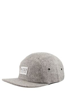 fcdd321168 Nicce London Wool 5 Panel Cap