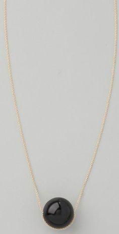 Black Moon Necklace