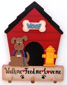 Dog House leash/collar holder