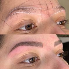 Mircoblading Eyebrows, Permanent Makeup Eyebrows, Eyebrow Before And After, Eyebrow Embroidery, Eyebrow Growth, Facial, Sexy, Lashes, Make Up