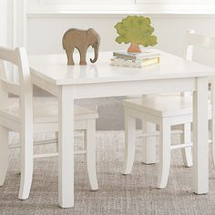 Pottery Barn Kids My First Play Table & Chairs