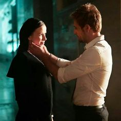 """""""You can't even turn it off with a woman married to God, can you?"""" """"Sister Flirtatious started it"""" Constantine Nbc, Matt Ryan Constantine, Constantine Hellblazer, Sci Fi Shows, Tv Shows, Hellblazer Comic, Married Woman, Writing Inspiration, Dc Universe"""