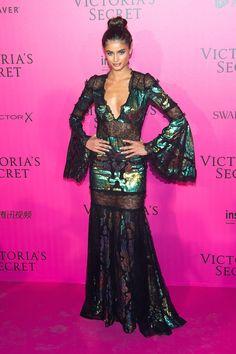 Taylor Hill - 2016 Victoria's Secret Fashion Show After-party - HarpersBAZAAR.com