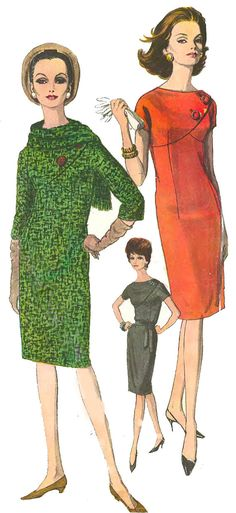 Vintage 1960's Vogue Sewing Pattern Autumn Scarf