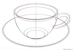 ~How To Draw A Cup Of Tea NTS: do with foreshortening and