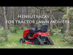 Youtube Download Half Track Garden Tractor Build With A