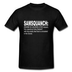 Samsquanch T-Shirt | Spreadshirt | ID: 14162350