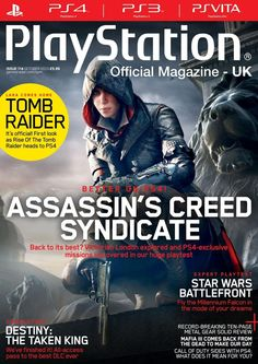 Official PlayStation Magazine 114. 'Better On PlayStation' feature in epic style. Star Wars battlefront - We go hands-on with a brand new mode and bag an exclusive chat with DICE head Patrick Bach. Find out why Black Ops III is set to be the best Call Of Duty in years.