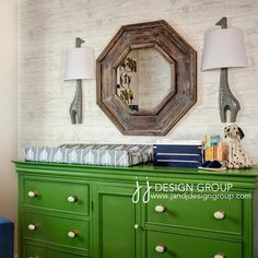 navy green and gray nursery - Google Search