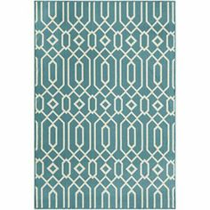 Baja Scroll Outdoor Rug - JCPenney