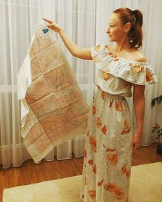 First maxi dress