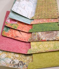 I like the different papers for different things. But, I will not buy them, especially since I could easilly make them.