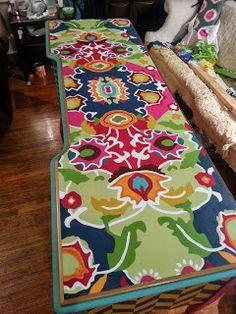 Confessions of a DIY-aholic: Folk art buffet