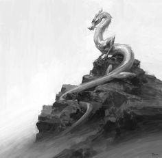 敖丙 by Tianhua Xu on ArtStation.