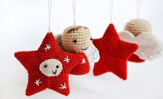 ¿Buscas ideas de adornos navideños? A continuación, te enseñamos cómo elaborar originales ángeles creados con la técnica de ganchillo. ¡Toma nota de los siguientes diseños!