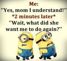 25 Funny and Witty Minion Quotes for Minion Fans - Jokes - Funny memes - - The post 25 Funny and Witty Minion Quotes for Minion Fans appeared first on Gag Dad. Minion Humour, Funny Minion Memes, Funny Animal Jokes, Funny School Jokes, Crazy Funny Memes, Minions Quotes, Really Funny Memes, Funny Laugh, Funny Facts