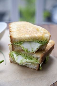 Garlic Scape and Almond Pesto   33 Delicious Ways To Use Up Your Summer Vegetables