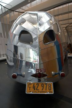 1936 Airstream Clipper, Rear Detail by JoeInSouthernCA, via Flickr