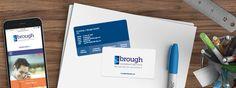 Brough Leadership Institute Business Cards | One Part Scissors