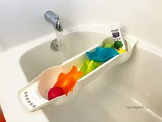 New UBBI bath toys and bath organizers are superb!