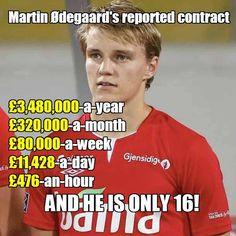 Salary of Real Madrid wonder kid Martin Odegaard