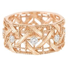 My Dior - Ring in 18K pink gold and diamonds. Discover more on