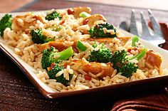 7-ingredient chicken teriyaki stirfry - reviews suggest adding extra teriyaki sauce and not as much water