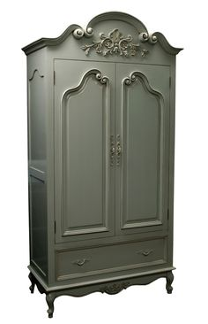 French cottage style armoire...