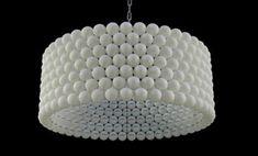 ¿Como hacer una lámpara con pelotas de ping- pong