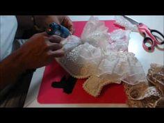 Want2Scrap Victorian Shoe Pillow Part 2 Tutorial
