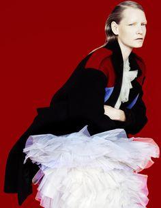 Formal Order | Muse Magazine Fall 2014 | Kirsten Owen by Erik Madigan Heck #fashioneditorials #KirstenOwen