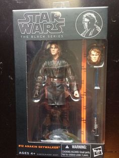 Star Wars Black Series 6 inch #12 Anakin Skywalker LOW PRICE FOR QUICK SELL #Hasbro