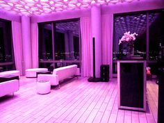 Trump Soho NYC Rooftop with Expressway Music DJ Bose speaker set up...what a great space for an event!