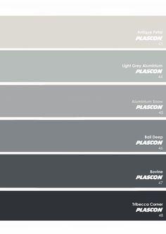 plascon architectural greys - Google Search