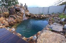 Natural Swimming Pond DIY | ... these, you will also like viewing these DIY water feature projects