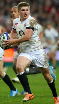 Owen Farrell, Saracens, England England Rugby Players, British And Irish Lions, Rugby Shorts, The Sporting Life, Australian Football, Rugby Men, Rugby World Cup, Rugby League, Men In Uniform