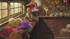 Hayao Miyazaki's Studio Ghibli Releases Free Backgrounds for Virtual Meetings: Princess Mononoke, Spirited Away & Secret World Of Arrietty, The Secret World, Hayao Miyazaki, Totoro, Howl Movie, Studio Ghibli Background, Video Backdrops, Films Cinema, Creative Communications