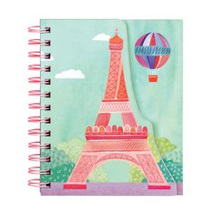 J'Adore Paris layered journal from Mudpuppy. #Paris #France #Mudpuppy #Galison #design #stationery