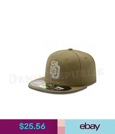 Hats San Diego Padres Brown Era 5950 Fitted 59Fifty Mlb Baseball Hat #ebay #Fashion